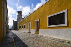 Opinião da rua de Campeche Imagem de Stock