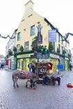 Opinião da rua de Galway Foto de Stock Royalty Free