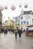 Opinião da rua de Galway Imagens de Stock