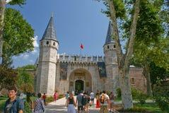 Opinião da rua de Istambul Imagens de Stock Royalty Free