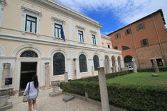 Opinião da rua de Itália Roma Imagens de Stock