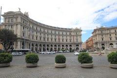 Opinião da rua de Itália Roma Foto de Stock Royalty Free