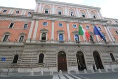Opinião da rua de Itália Roma Foto de Stock