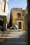 Opinião da rua de Italy, Sicília Fotografia de Stock