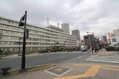 Opinião da rua de Japão Hiroshima Imagem de Stock Royalty Free