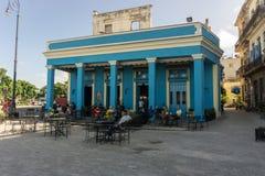 Opinião da rua de La Habana Vieja, La Havana, Cuba Foto de Stock Royalty Free