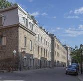 Opinião da rua de Montreal Fotos de Stock