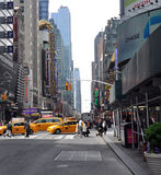 Opinião da rua de New York City Foto de Stock Royalty Free