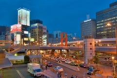 Opinião da rua de Ueno, Tóquio Foto de Stock Royalty Free