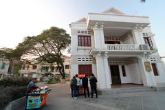 Opinião da rua em Gulangyu Fotografia de Stock Royalty Free