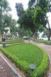 Opinião da rua em Hanoi, Vietname Fotografia de Stock Royalty Free