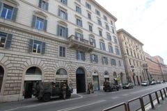 Opinião da rua em Roma, Itália Foto de Stock
