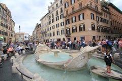 Opinião da rua em Roma, Itália Imagem de Stock