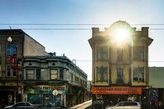 Opinião da rua em San Francisco California United States de América Imagens de Stock Royalty Free