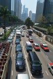 Opinião da rua, Hong Kong Fotos de Stock