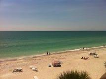 Opinião da sala da praia de Lido Imagem de Stock Royalty Free