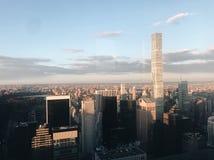 Opinião da skyline de New York City Imagens de Stock