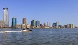 Opinião da skyline de New York City, EUA Imagem de Stock