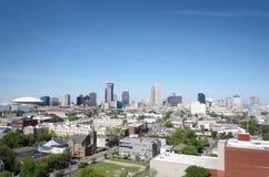 Opinião da skyline de Nova Orleães foto de stock royalty free