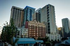 Opinião da skyline em Seattle Washington United States de América Foto de Stock Royalty Free