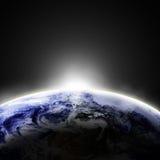 Opinião da terra Foto de Stock Royalty Free
