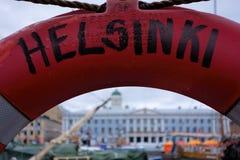 opinião da Vida-boia de Helsínquia Foto de Stock