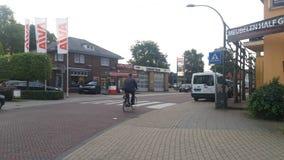 Opinião da vila de Elspeet Imagem de Stock
