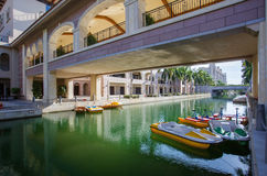Opinião da vista do hotel de luxe foto de stock royalty free