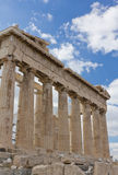 Opinião da zona leste do Parthenon Foto de Stock