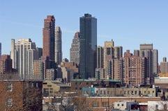 Opinião das rainhas de Manhattan foto de stock royalty free