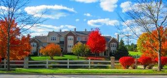 Opinião de área residencial fotos de stock royalty free