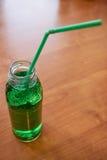 Opinião de ângulo alto da garrafa de água ventilada Foto de Stock Royalty Free