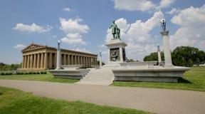 Opinião de ângulo larga do parque centenário imagens de stock royalty free