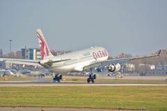 Opinião de Airbus A330-200 Fotos de Stock