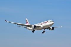 Opinião de Airbus A330-200 Fotografia de Stock Royalty Free