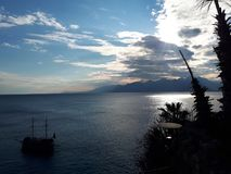 Opinião de Antalya foto de stock