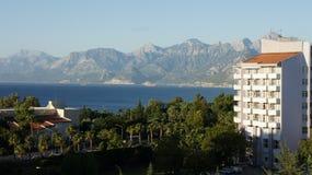 Opinião de Antalya Imagens de Stock Royalty Free