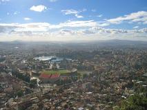 Opinião de Antananarivo Imagem de Stock