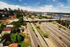 A opinião de Arial da cidade de Portland Imagem de Stock Royalty Free