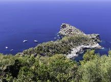 Opinião de Arial do mar Mediterrâneo Imagem de Stock