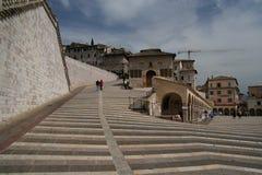 Opinião de Assisi Foto de Stock
