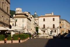 Opinião de Assisi imagens de stock
