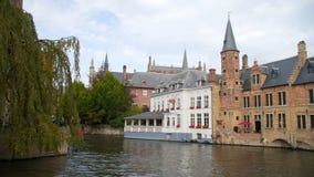 Opinião de Bélgica Bruges da cidade video estoque