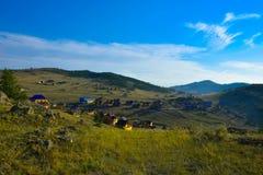 Opinião de Baikal foto de stock royalty free