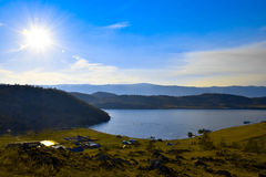 Opinião de Baikal Fotos de Stock Royalty Free