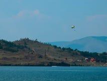 Opinião de Baikal foto de stock