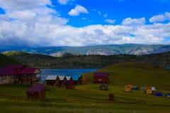 Opinião de Baikal fotografia de stock