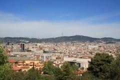 Opinião de Barcelona Fotografia de Stock