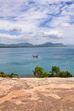Opinião de Barra da Lagoa - Florianopolis, Brasil Imagens de Stock