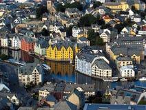 Opinião de Bergen Imagem de Stock Royalty Free